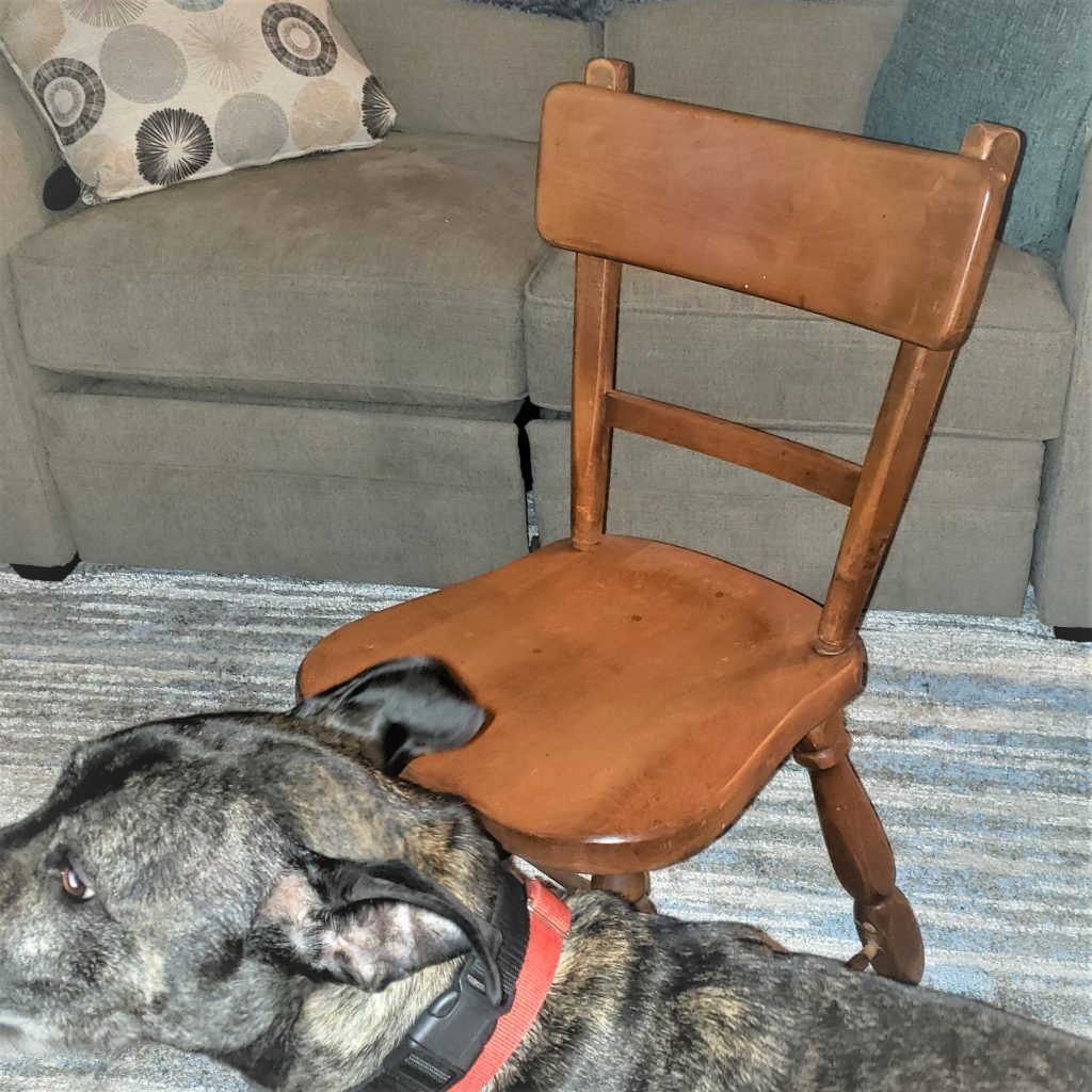 Puck with chair